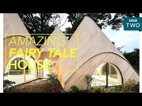 Incredible Japanese fantasy tent-house - World's Most Extraordinary Homes - BBC Two