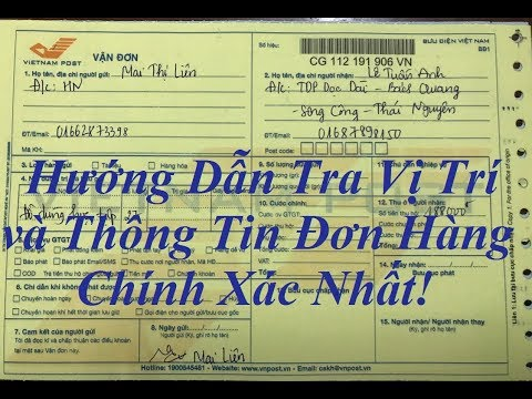Kiểm Tra đơn Hàng Khi Gửi Bưu điện Vnpost.vn Và Nhận Tiền ở Bưu điện || Koifshop