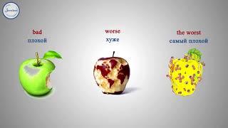 Английский язык Adjectives Degrees of comparison Part 2