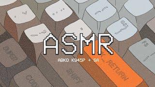 Keyboard ASMR | 앱코 해커 K945p + …