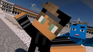 Rusher Runden mit SubSpokeZz Minecraft skywars