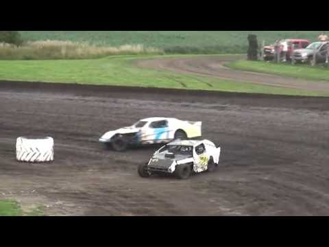 IMCA Sport Mod feature Benton County Speedway 7/24/16