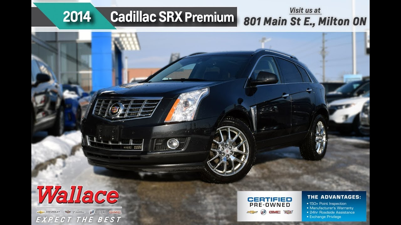 2014 cadillac srx pl5077 wallace chevrolet certified pre owned youtube. Black Bedroom Furniture Sets. Home Design Ideas