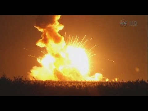 Tomorrow Daily - 077: The Antares rocket explosion, ferrofluid art, and hydrogel robot muscles