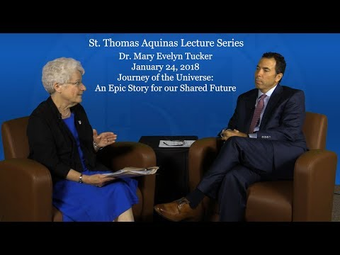 St. Thomas Aquinas Lecture promo - Dr. Mary Evelyn Tucker