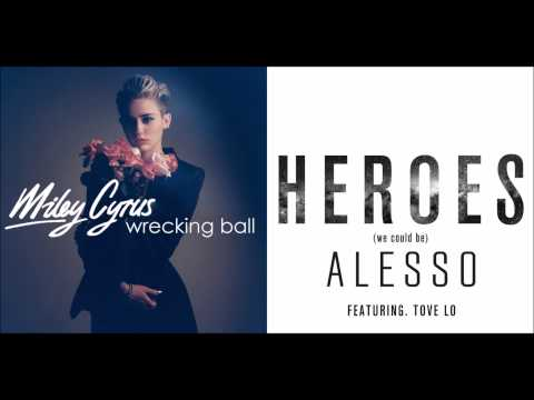 Miley Cyrus vs Alesso ft Tove Lo - Wrecking Heroes (Mashup)