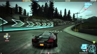 Need For Speed World Offline - Lamborghini Reventon - Late Departure