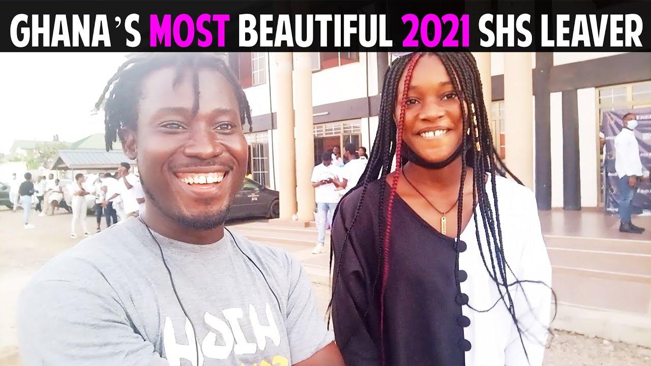 Download Ghana's Most Beautiful 2021 SHS Leaver.