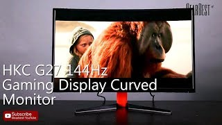 HKC G27 144H Gaming Display Curved Monitor 【kupon: HG27G $ 309.99】 - Gearbest.com