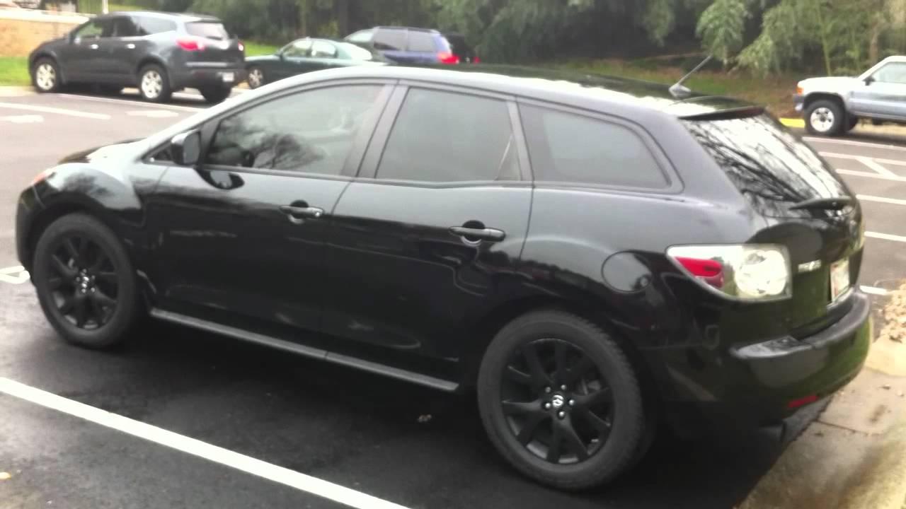 All Black Mazda Cx7 Awd Youtube
