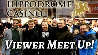 Hippodrome Casino - London Viewer meet up | Vlog 38