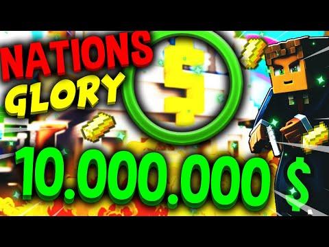 🤑 NATIONSGLORY - GO 💸 💲 10.000.000 💲 💸 !? (Minecraft EarthMC) 💰