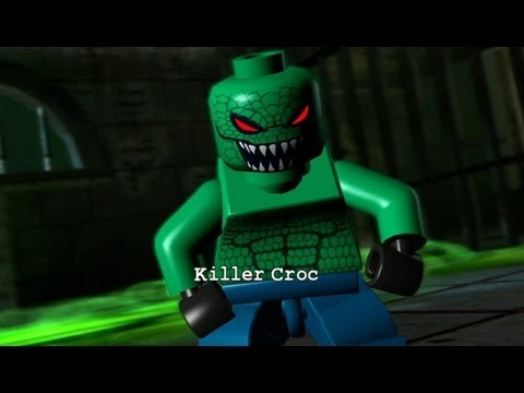LEGO Batman 100% Guide - Episode 2-3 - Under the City (All Minikits/Red Brick/Hostage)