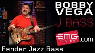 bobby vega on fender jazz bass and acoustic 360 emgtv
