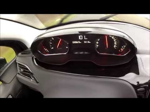 Peugeot 208 1.4l HDI 0-100 Km/h