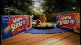 Repeat youtube video Pillsbury Waffle Sticks commercial (2004)