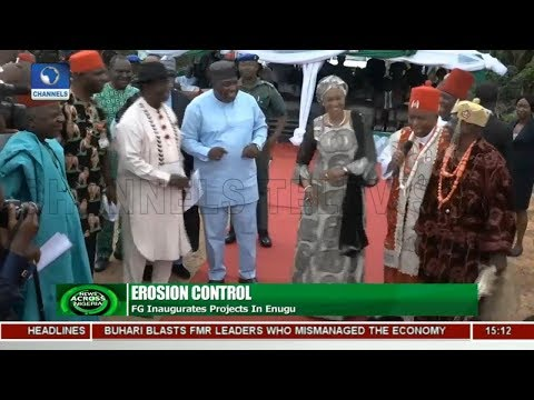 FG Commits To Tackling Erosion Menance Across The Country |News Across Nigeria|