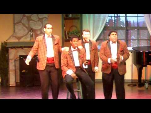 The christmas song Way off Broadway Forever Plaid