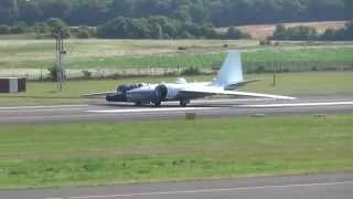 NASA Wb-57 lands PIK, takes off next day