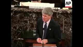 USA: CLINTON IMPEACHMENT TRIAL: LEWINSKY ARRIVAL