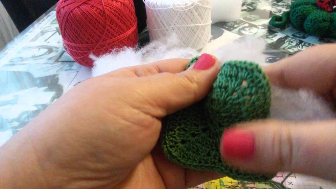 Portachiavi amigurumi quadrifoglio fatto a mano a uncinetto - Per ... | 720x1280