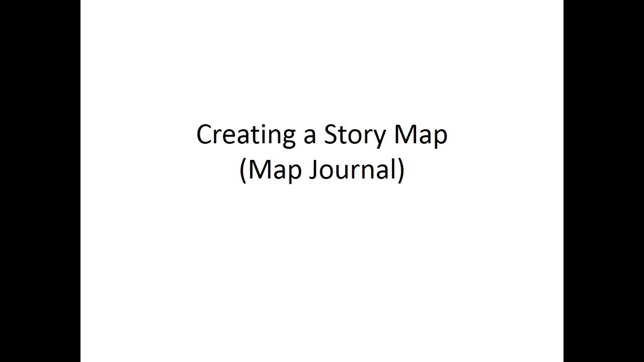 How to create a story map using the map journal template youtube how to create a story map using the map journal template pronofoot35fo Image collections