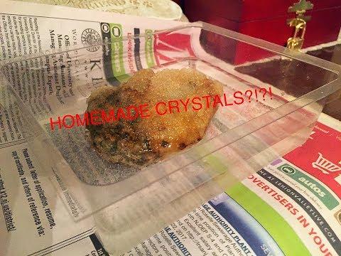 Homemade Crystals (Part 1: The Beginning)