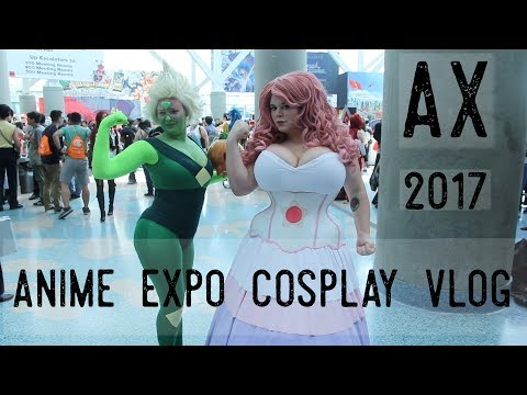 Anime Expo 2017 Cosplay Vlog
