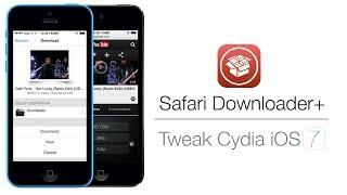 Download Safari Downloader+ | Télécharger des fichiers depuis Safari sous l'iOS 7 ! Mp3 and Videos