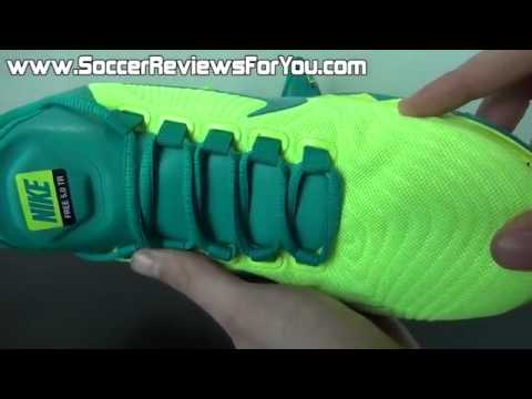 the latest d95fe 0d658 Nike Free Trainer 5 0 2014 Volt Turbo Green Review On Feet