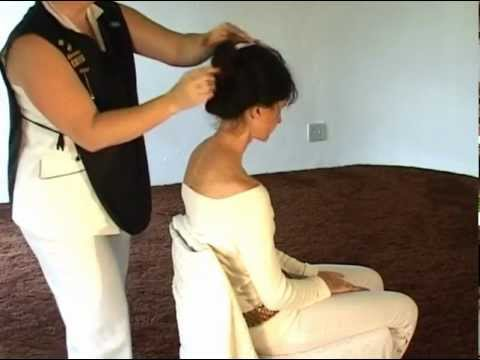 Indian Head Massage - How to Give an Indian Head Massage
