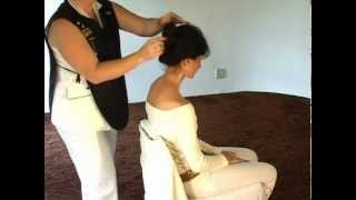 indian head massage how to give an indian head massage