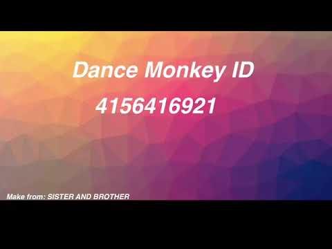 dance monkey song id roblox