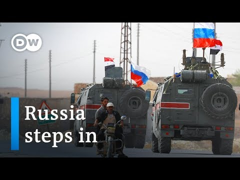 Turkey's Syria offensive: Russia steps into void left by US | DW News