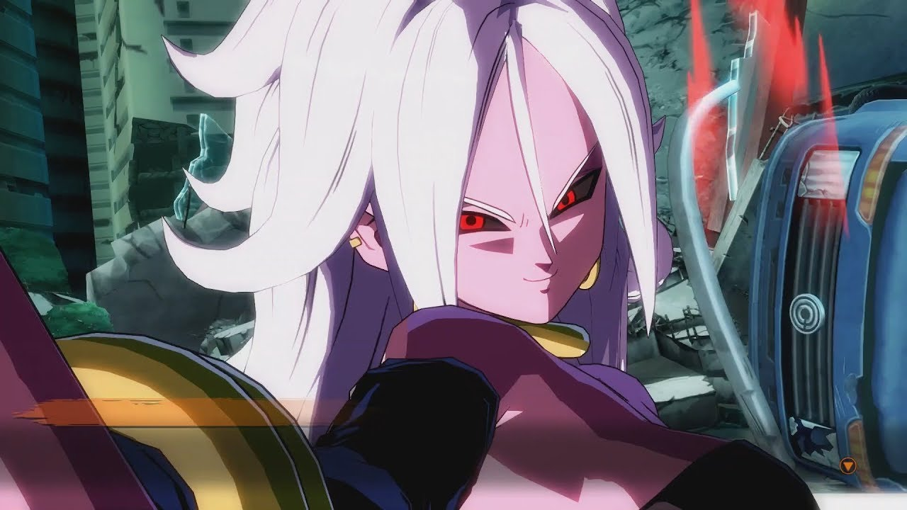 Dragon Ball FighterZ EVIL Ending - Android 21 vs Frieza ...