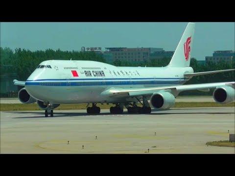Planespotting at Beijing Capital Int'l Airport, PEK 2017