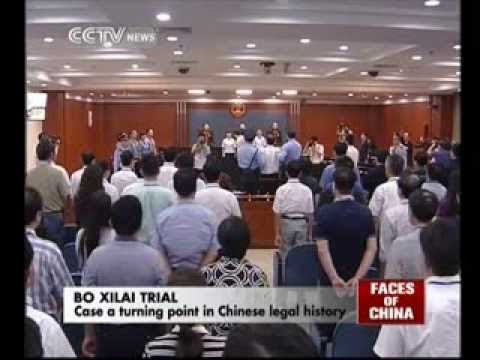 Bo Xilai's case  a turning point in Chinese legal history