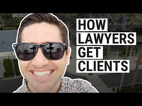 How Lawyers Get Clients
