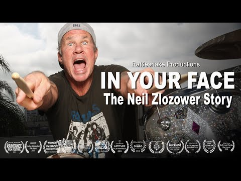 IN YOUR FACE - The Neil Zlozower Story
