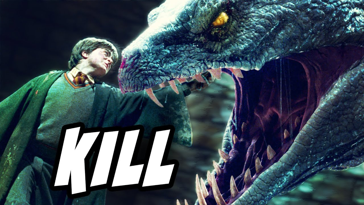 Download Why Didn't the Basilisk DESTROY the Horcrux in Harry? - Harry Potter Explained