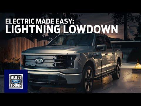 F-150 Lightning Lowdown: Electric Made Easy | Ford