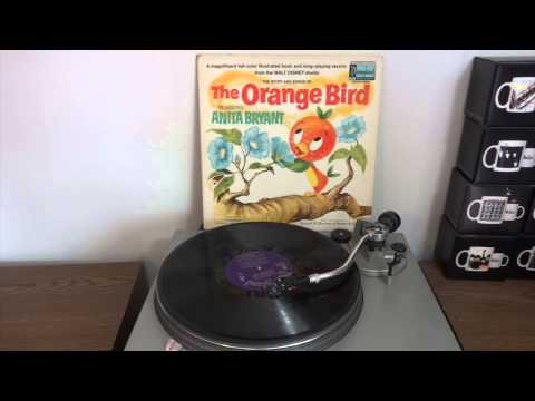 The Orange Bird - Walt Disney World - Disneyland Records