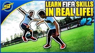 FIFA 15: Learn Amazing FIFA 15 Skills In Real Life Part 2 ★ Xbox/Playstation