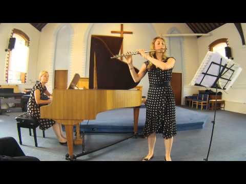 Lennox Berkeley Sonatina - flute and piano - Emily Andrews and Eva Hilmarsdottir
