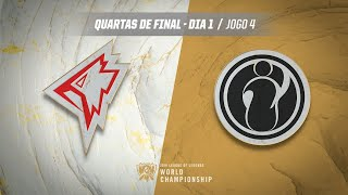 Mundial 2019: Quartas de Final - Dia 1 | GRIFFIN x Invictus Gaming (Jogo 4)