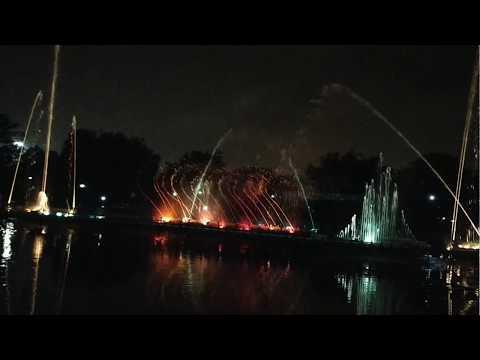 Musical Fountain (Jai Ho song) ll Jawahar Circle, Jaipur ll Pink City ll LNKumhar