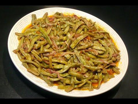 recette-vÉgÉtarienne-les-haricots-verts-À-la-tomate