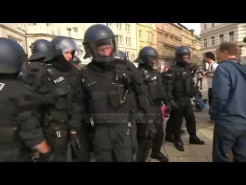 Samiti G20, protesta të dhunshme në Hamburg - Top Channel Albania - News - Lajme