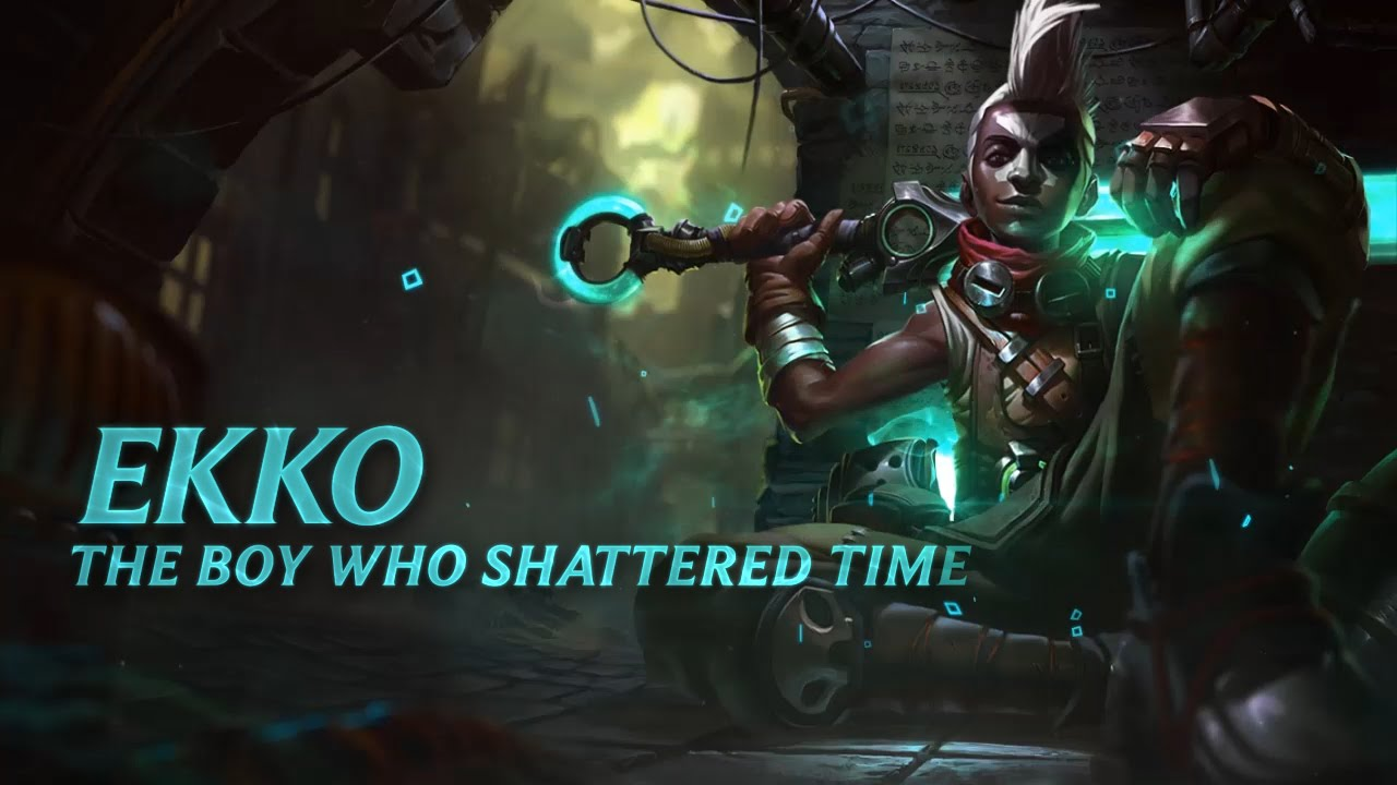 Ekko Champion Spotlight - Ekko Champion Spotlight