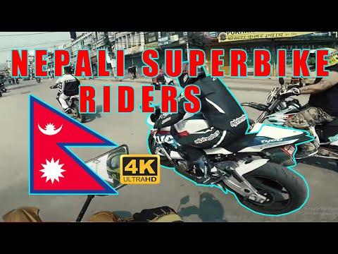 SUPER BIKE IN NEPAL - WATCH TILL END !